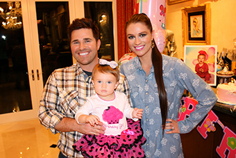 Ashely and Gabriella Tesoro first birthday 2014
